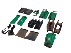 Skid Steer and Tractor Loader brackets and Conversion Kits